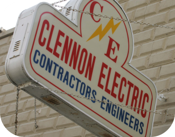 Old Clennon Sign